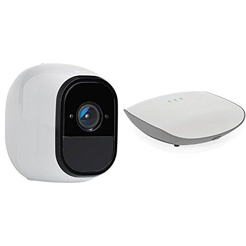 NETGEAR Flexpower 1 Camera Onvif Security System - 1 Indoor/Outdoor Wire-Free Camera...