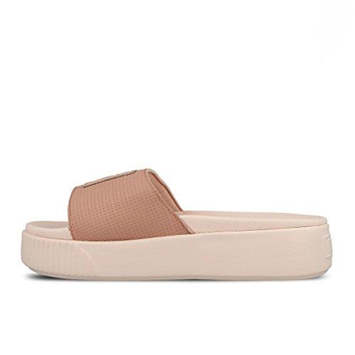 Puma Women's Slide WNS Ep Platform Sandals, Black Rose