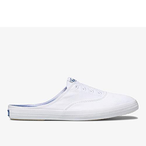 Keds Women's Moxie Mule Sneaker,White,7 M US