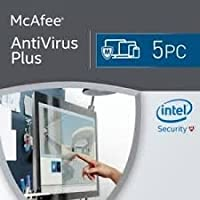 Mcafee 2108 Antivirus Plus 5 Devices 1 Year, Delivery on same day via Amazon Message - Download software link and Activation key -