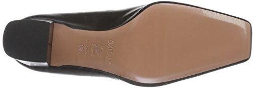 Oxitaly Women's Adele 211 Closed Toe Heels Black (Kid Nero) Psxd28fS