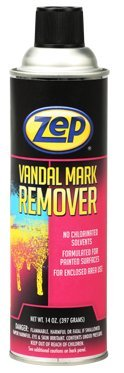 Zep Automotive ZAA7341 Vandal Mark Remover Aerosol 14 Ounces Case - 12 Cans