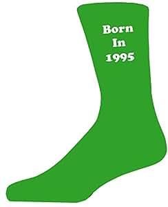 Nació en 1995en calcetines verdes, gran regalo de cumpleaños–gran novedad calcetines
