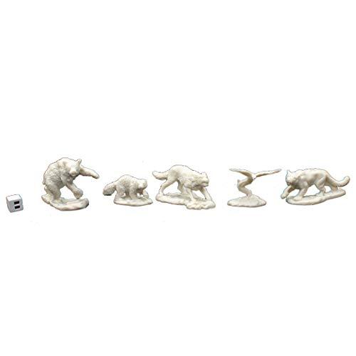 Reaper 77216: Companion Animals (5) Dark Heaven Bones Plastic Miniatures