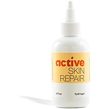 Active Skin Repair Hydrogel - The Natural & Non-Toxic Healing Ointment & Antiseptic Hydrogel for Minor cuts, scrapes, rashes, sunburns and Other Skin irritations (Single, Hydrogel)