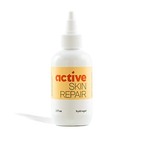 Active Skin Repair - The Natural & Non-Toxic Healing Ointment & Antiseptic Spray for Minor cuts, scrapes, rashes, sunburns and Other Skin irritations (Single, Hydrogel)