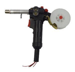 Push Pull Gun (NBC-200A Millers MIG Spool Gun Push Pull Feeder Aluminum Welding Torch without Cable)