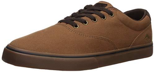 Emerica Men's Provost SV Skate Shoe TAN/Gum 9.5 Medium US ()