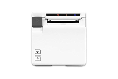 Square POS Compatible Receipt Printer - Epson TM-M10 2'' Compact - Works with Square Register and Other POS Systems, Sleek, Modern Design (White) by Epsilont (Image #3)