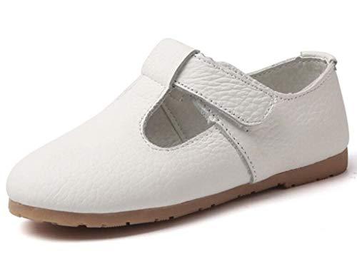کفش DADAWEN Gril's T-بند آکسفورد آپارتمان مدرسه ماری جین کفش یکنواخت کفش لباس عروسی شاهزاده خانم عروسی