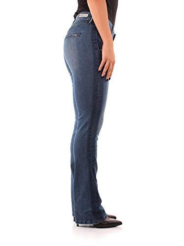 Pantaloni W84A75 Medium Denim Femme Blue Guess 6qP56