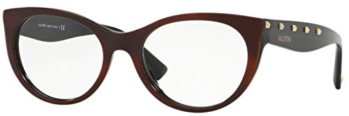 Eyeglasses Valentino VA 3033 5125 HAVANA/BLACK for sale  Delivered anywhere in USA