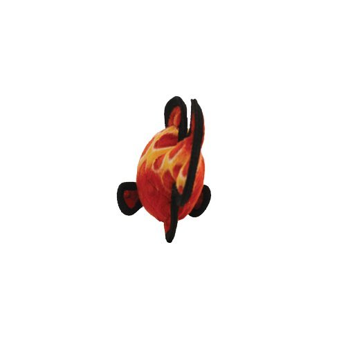 Picture of TUFFY Ocean Creature Fish, Durable Dog Toy, Red