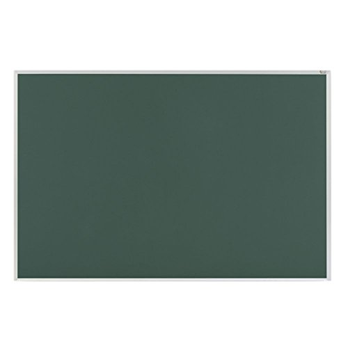 Marsh Pro-Rite 48x192 Green porcelain chalkboard, Contractor w/ hanger bar Aluminum trim / 2