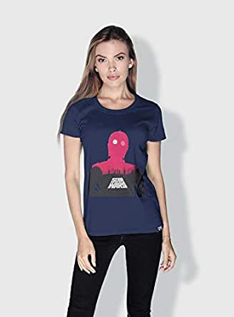 Creo Star Wars Movie Posters T-Shirts For Women - Xl, Blue