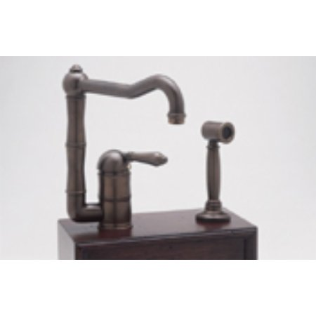 rohl kitchen faucets. Rohl A3608LPSTN, Kitchen Faucets, Single Lever Faucet - Satin Nickel Faucets