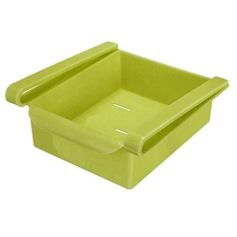 MIKOWANXIN Regal K/ühlschrank Rack Regal K/ühlschrank herausziehen Schublade Lebensmittel Obst und Gem/üse Aufbewahrungsbox Rack K/üche Storage Storage Rack