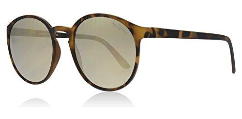 Le Specs Unisex Swizzle Matte Tortoise Sunglasses