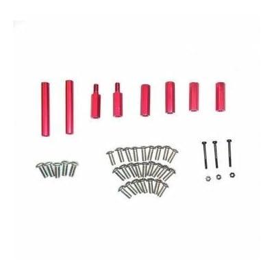 Emax Nighthawk Pro 200 Spare Part Screw Set Aluminum Column: Toys & Games [5Bkhe2002695]