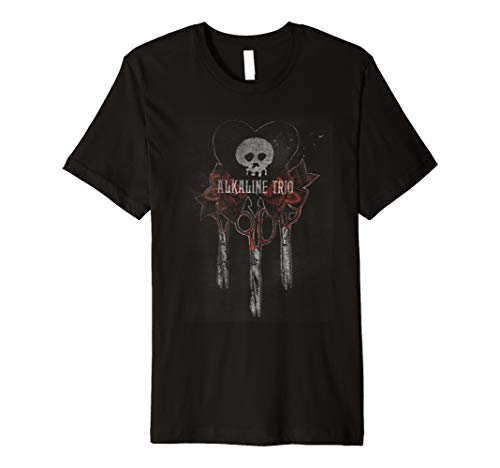 Alkaline Trio- Bouquet - Official Merchandise Premium T-Shirt