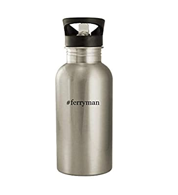 #ferryman - 20oz Hashtag Stainless Steel Water Bottle