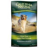 California Natural LID Grain-Free Lamb Meal Formula Dry Dog Food, 30 lb