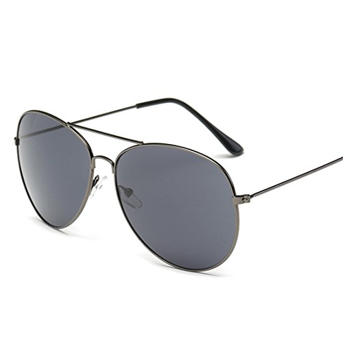 HANYI Premium Military Style Classic Aviator Sunglasses, Polarized, 100% UV protection(Include a Box Case) - Sunglass Hut Gift Card Refund