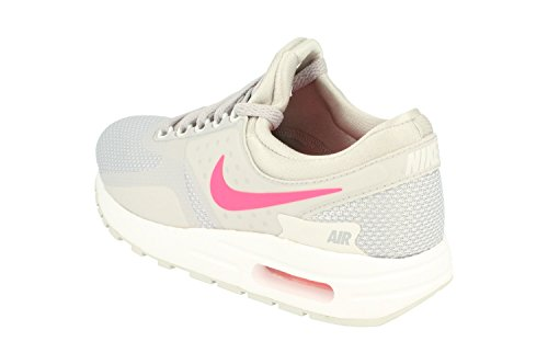 Nike Grade-School Air Max Zero Essential Wolf Grey/Racer Pink-White 881229-003 Shoe 3.5Y M US Youth by Nike (Image #1)