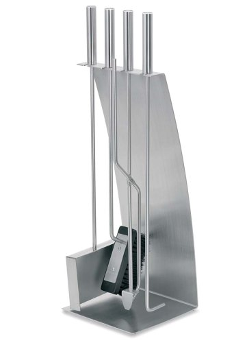 Blomus Stainless Steel Fireplace Tool Set by Blomus