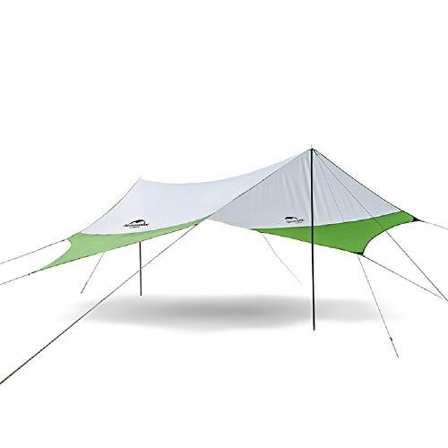 現像荷物罹患率屋外Awnigビーチ大規模なキャンプのテントは日防水超軽量で高速400 * 350CM NH16T012-Sを構築シェルター