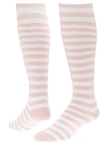 Red Lion Mini Hoop Athletic Socks ( Pink / White - Small )