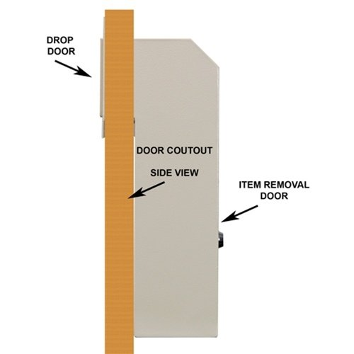 Good Amazon.com : Protex Through The Door Locking Drop Box (WSS 159) : Wall  Safes : Office Products