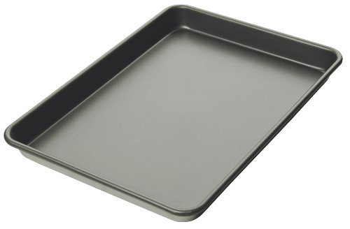 Focus Foodservice Commercial Bakeware 23-Gauge Non-Stick Aluminum-Sheet Pan, 1/4-Sheet