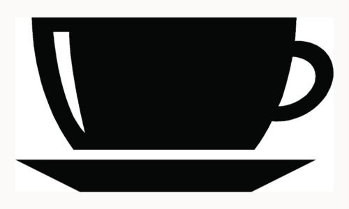 Coffee Cup Sticker Cappuccino Mug Drink Car Window Vinyl Decal Love Caffeine S1 - Die cut vinyl decal for windows, cars, trucks, tool boxes, laptops, MacBook - virtually any hard, smooth surface
