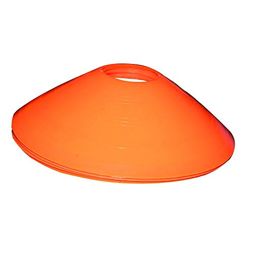 Football Training Obstacle Cones Marker Discs Durable Soccer Training Saucer Orange