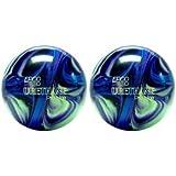 EPCO Duckpin Bowling Ball- 2 Urethane Pro-Line - Purple, Blue & Mint Balls