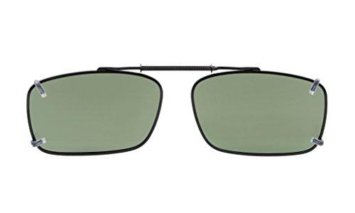 Eyekepper Frame 34MM G15 Rim De 54 Sol Polarized Clip En Gafas Lens Metal Frrf5qwxS