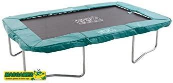 Cama elástica rectangular Masgames SUN RESISTANT: Amazon.es ...
