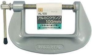 (業務用20個セット) H&H Cクランプ/シャコ万力 【サイズ:100mm】 アルミダイキャスト製
