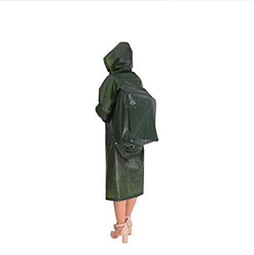d'Emmay le de poncho de 3 style imperméable de extérieur 2 Partie couleur E Xl environnementale avec réutilisable pluie capot Y0nwgBz