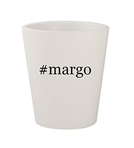 #margo - Ceramic White Hashtag 1.5oz Shot Glass
