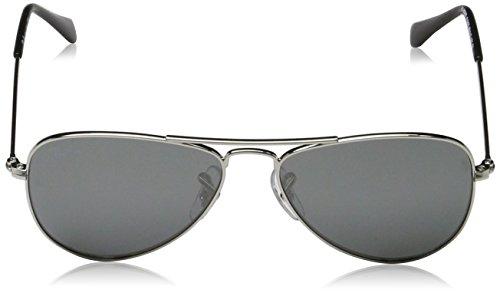 Ban 0RJ9506S Grey de Silver soleil Argenté Silver Lunettes Ray vI6dqI