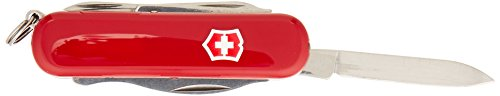 Army Pin Straight Swiss - Victorinox Swiss Army Midnite Manager Pocket Knife, Red