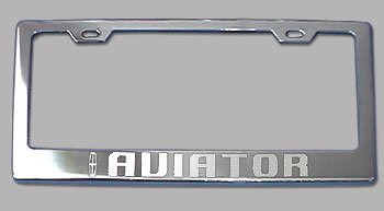 lincoln-aviator-chrome-license-plate-frame