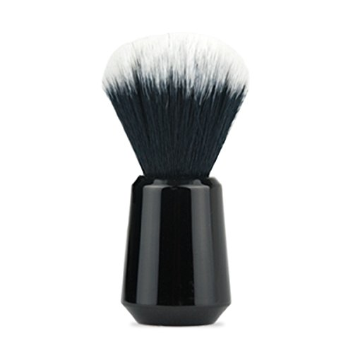 OneBlade 20mm Knot Premium Synthetic Shaving Brush, ultra-soft, weighted handle for ergonomically optimal experience, fast drying. by OneBlade