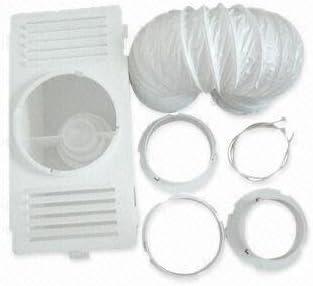 Kabalo Universal Secadora de ventilación del condensador Kit - con manguera de ventilación, caja de condensador y conectores [Universal Tumble Dryer Ventilation Condenser Kit - with vent hose, condens