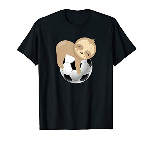 Baby Sloth Soccer Ball T-Shirt
