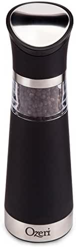 Ozeri Graviti Pro Electric Pepper Mill and Grinder