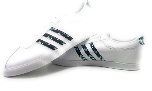 para Mujer Ftwbla 000 Courtset Ftwbla Ftwbla Blanco adidas de Deporte W Zapatillas BY6nwwXxaq