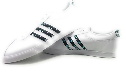 Mujer Ftwbla W adidas de Courtset 000 Ftwbla para Zapatillas Deporte Blanco Ftwbla xxzwYr